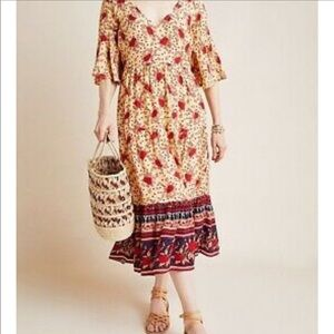 Faithfull The Brand x Anthropologie Melia Dress